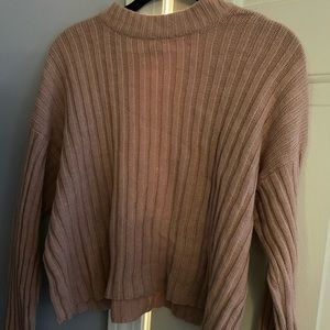 Cropped American Eagle sweater